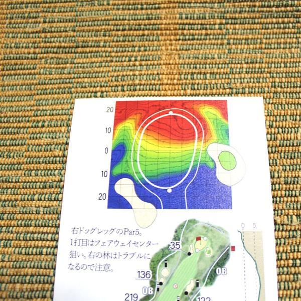 【送料込み】ヤーデージブック ニュー軽米カントリークラブ(岩手)|golfnavi|05