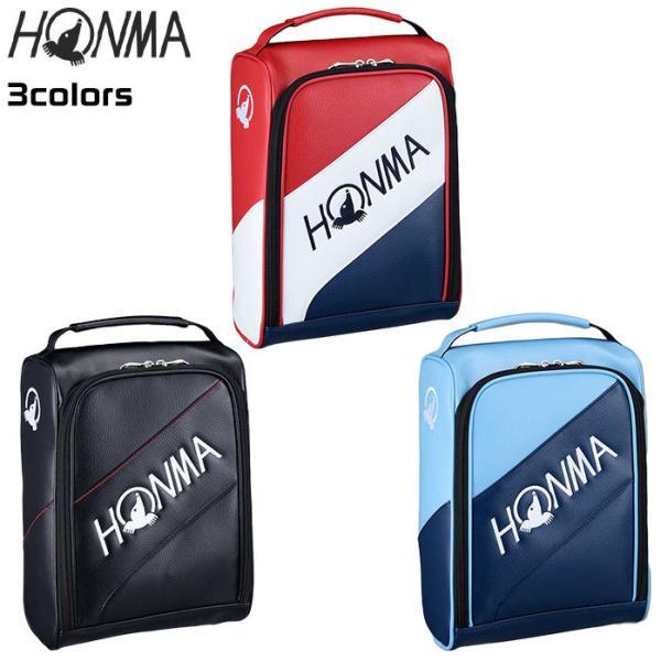 ホンマ ゴルフ プロ シューズ ケース 20 PRO SHOES CASE ブラック レッド サックス SC12001 本間 HONMA