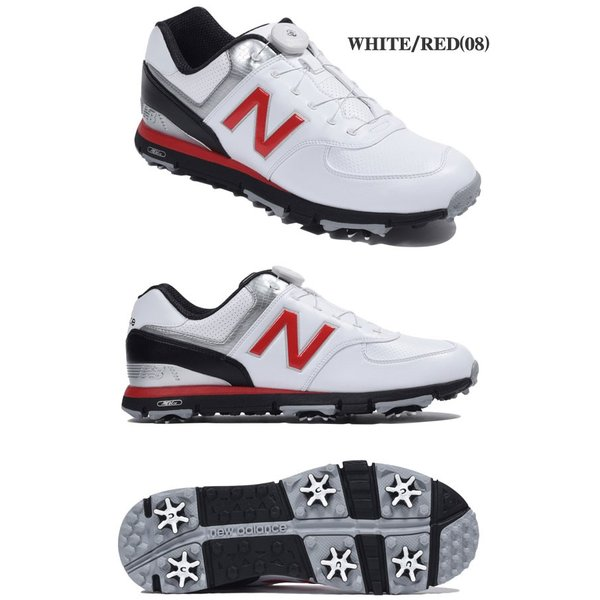 479b809281694 ... ニューバランス メンズ ゴルフシューズ MGB574 ソフトスパイク golfranger 03