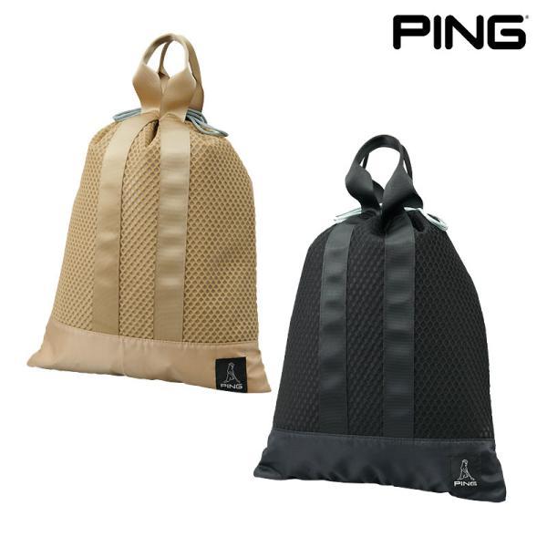 PING ピンゴルフ ユーティリティ メッシュポーチ GB-U214 シューズケース 日本正規品 pnap