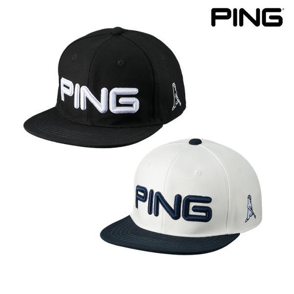 PINGピンゴルフフラットビルキャップHW-U213日本正規品pnap