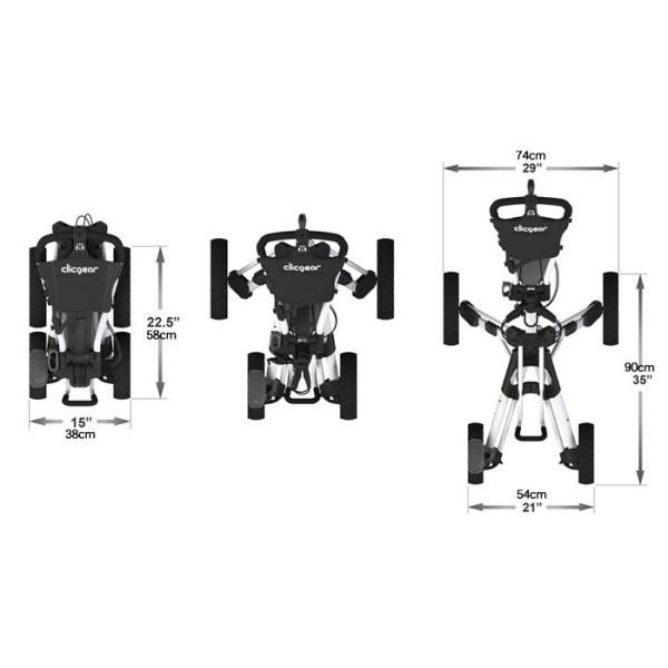 クリックギア モデル8.0 プッシュカート (ブルー)|golfshoplb|04
