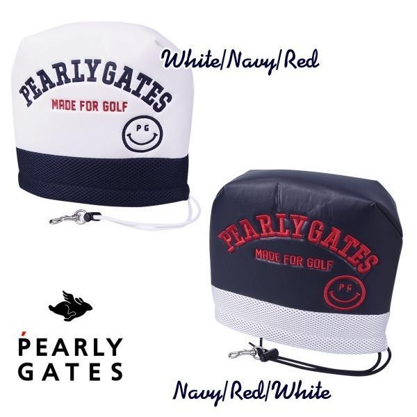 【NEW】PERLY GATES CLUB SMILY パーリーゲイツ・クラブスマイリー アイアンカバー発売! 641-1984133【CLUBSMILY21】WEB限定モデル