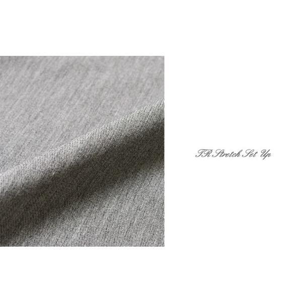 スーツ メンズ セットアップ 上下セット ストレッチ テーラードジャケット 無地 チェック柄 春 夏 おしゃれ 春夏 2019 BG-SET9309|golfwear|11