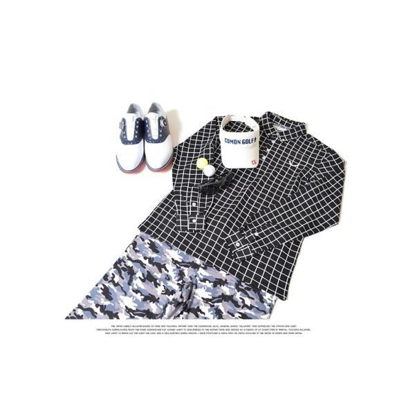 ポロシャツ メンズ ゴルフウェア  長袖  秋 冬ボタンダウン CG-LP543|golfwear|06