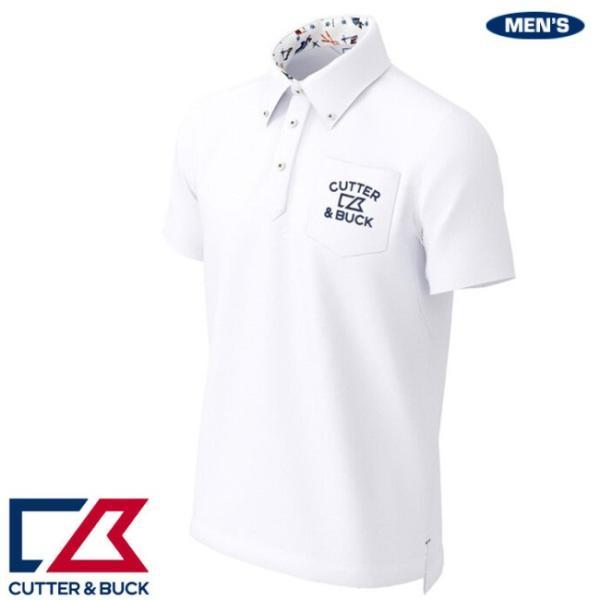 カッター&バック メンズ ビックハニカムBDカラーシャツ 2020年春夏モデル CGMPJA37