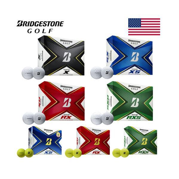 US輸入品 ブリヂストンゴルフTOURBゴルフボール2020モデルツアービー1ダース 12球入り