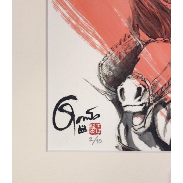 王欣太『蒼天航路』極厚本表紙 版画「夏候惇」|gontamecca|03