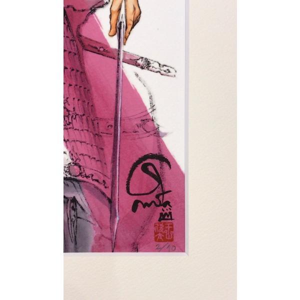 王欣太『蒼天航路』極厚本表紙 版画「張遼」|gontamecca|03