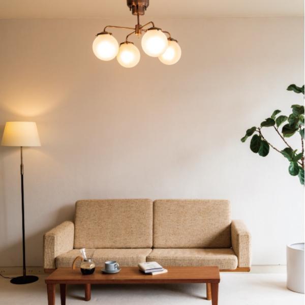 Giverny(ジベルニー)シーリングライト 照明 おしゃれ スチール ガラス アンティーク リビング ダイニング LED リモコン 送料無料 アンレック|goocafurniture|06