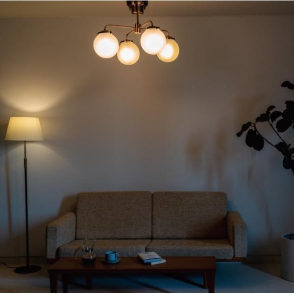Giverny(ジベルニー)シーリングライト 照明 おしゃれ スチール ガラス アンティーク リビング ダイニング LED リモコン 送料無料 アンレック|goocafurniture|07