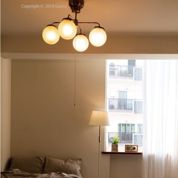 Giverny(ジベルニー)シーリングライト 照明 おしゃれ スチール ガラス アンティーク リビング ダイニング LED リモコン 送料無料 アンレック|goocafurniture|09