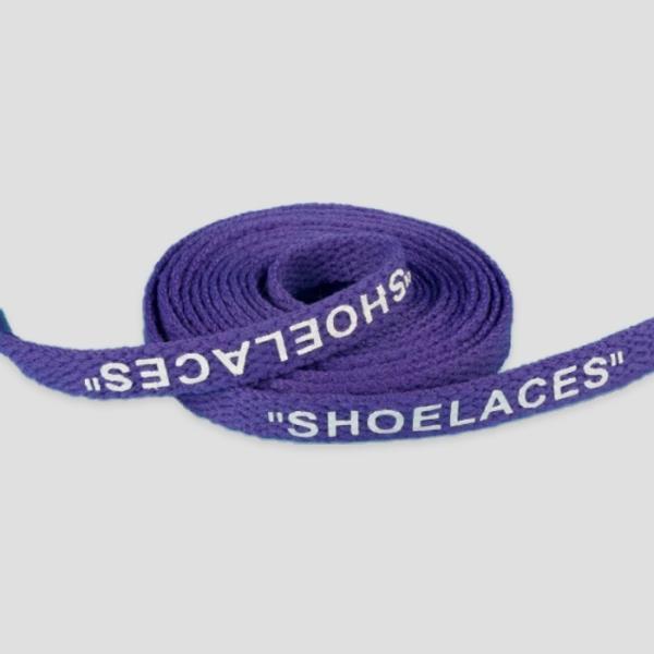 シューレース スニーカー 靴ひも 靴紐 OFF-WHITE NIKE adidas shoelaces 9色 Flat 左右セット|good-co|09