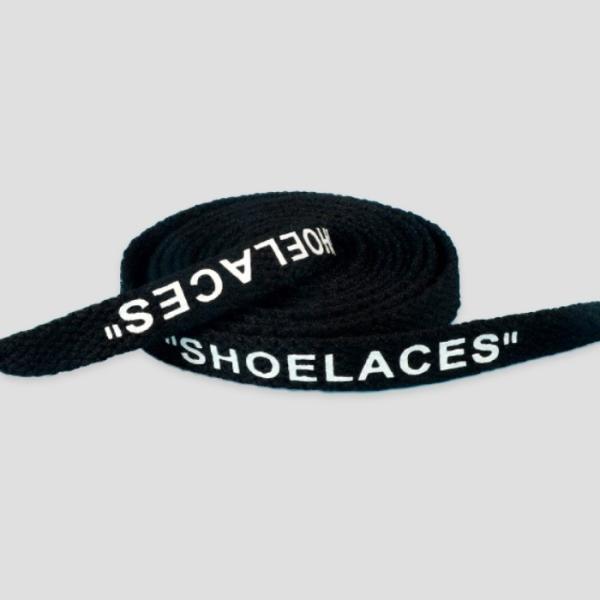 シューレース スニーカー 靴ひも 靴紐 OFF-WHITE NIKE adidas shoelaces 9色 Flat 左右セット|good-co|12