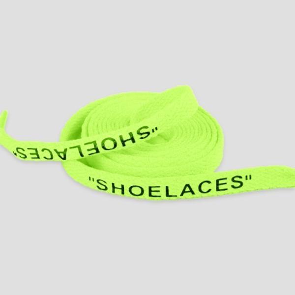 シューレース スニーカー 靴ひも 靴紐 OFF-WHITE NIKE adidas shoelaces 9色 Flat 左右セット|good-co|13