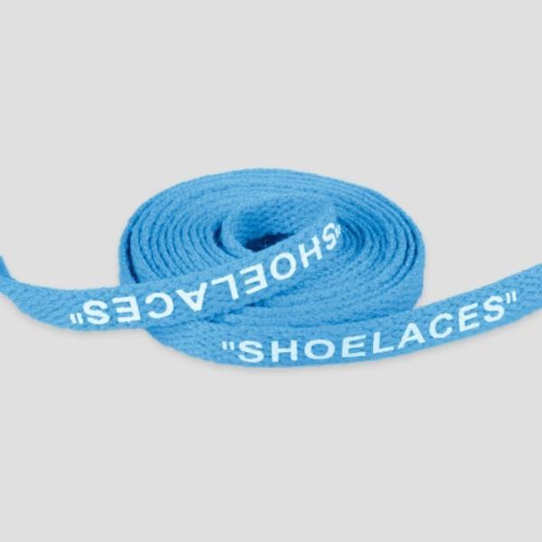 シューレース スニーカー 靴ひも 靴紐 OFF-WHITE NIKE adidas shoelaces 9色 Flat 左右セット|good-co|14
