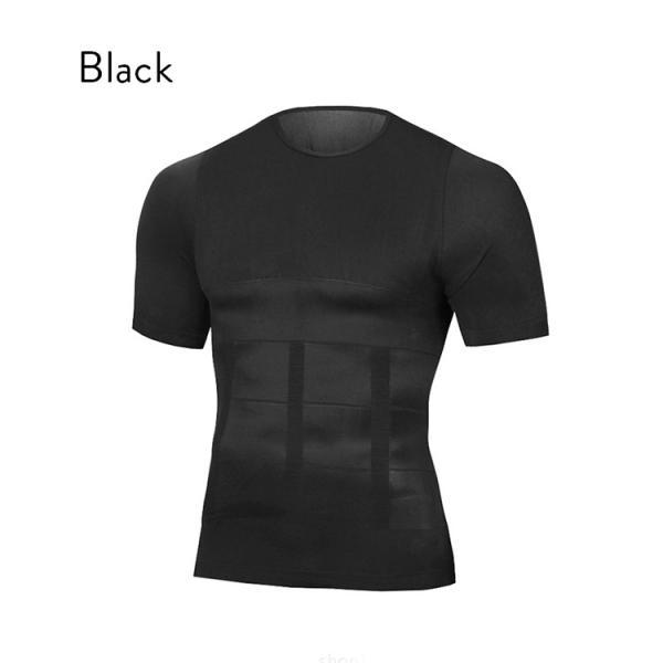加圧シャツ ダイエット 加圧インナー Tシャツ 半袖 メンズ 着圧 補正下着 good-co 07