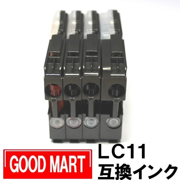 【単品】 LC11 ブラザーインクカートリッジ互換 brotherインク LC11 LC11-4PK 送料無料あり|good-mart|02