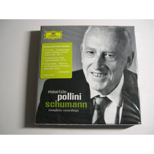 Maurizio Pollini / Schumann : Complete Recordings : 4 CDs // CD