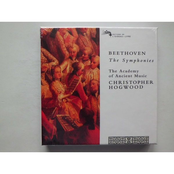 Beethoven / The Symphonies / The Academy of Ancient Music, Hogwood : 5 CDs // CD