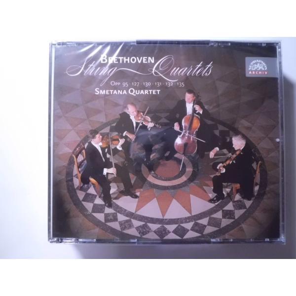 Beethoven / String Quartets / Smetana Quartet : 3 CDs // CD