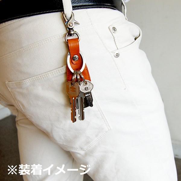靴べら 携帯 おしゃれ DONOK メタル レザー シューホーン ステリーナ 日本製 シューホン キーホルダー ダナック 紳士 メンズ プレゼントにもおすすめ good-s-plus 04