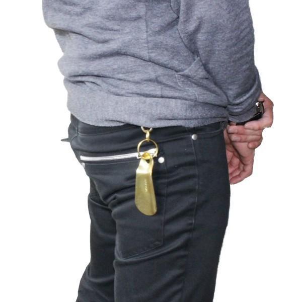 靴べら 携帯 おしゃれ DONOK Bracias シューホーン 真鍮製 ブラシアス キーホルダー アクセサリー オリジナル 日本製 ダナック 紳士 メンズ プレゼントにも good-s-plus 06