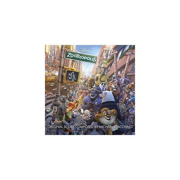 MichaelGiacchino(Soundtrack)/Zootropolis(輸入盤CD)