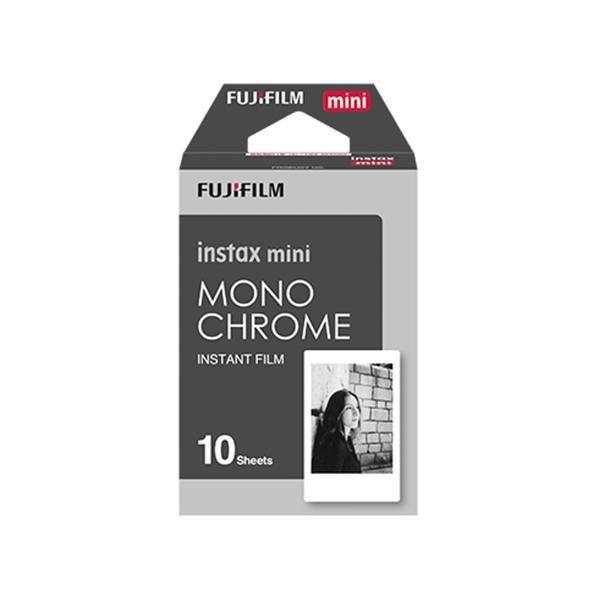 FUJIFILM instax mini チェキ用フィルム 絵柄入りフレームタイプ モノクローム 10枚入