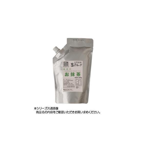 代引不可 かき氷生シロップ 西尾のお抹茶 業務用600g