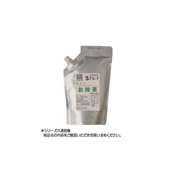 予約品 代引不可 かき氷生シロップ 西尾のお抹茶 業務用600g 3パックセット