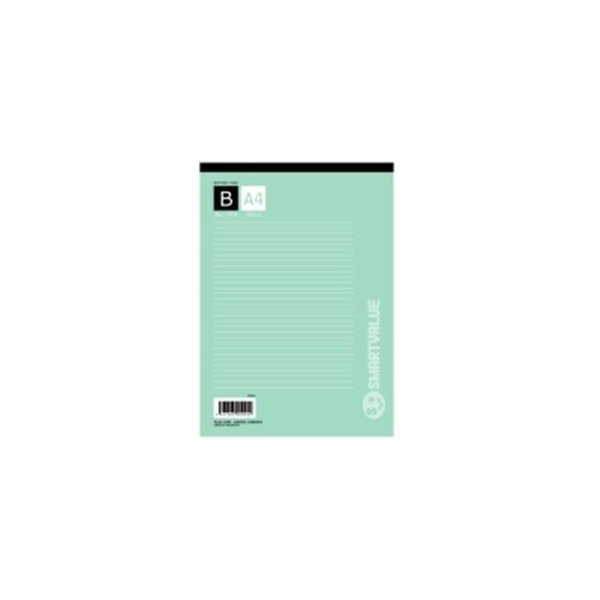 (まとめ)ジョインテックス レポート用紙5冊パック A4B罫 P008J-5P〔×10セット〕