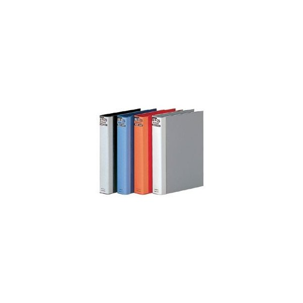 (まとめ) マルマン ダブロックファイル B5タテ 26穴 250枚収容 背幅44mm ブルー F679R-02 1冊 〔×5セット〕