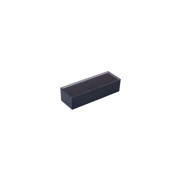 (業務用30セット) キングジム 名刺整理箱 75 黒