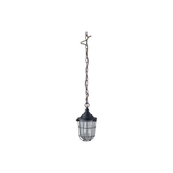 ペンダントライト/照明器具 〔LHT-734 幅15cm〕 スチール アルミ ガラス 電球付き 〔リビング ダイニング 寝室 ベッドルーム〕