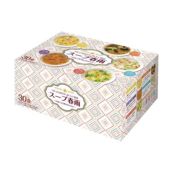 ひかり味噌 スープ春雨定番5種詰め合わせ 1セット(60食:30食×2パック)