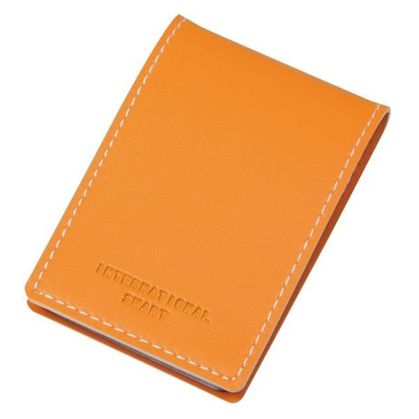 (まとめ)カラーポイントカードケース(ボタン無)色アソート〔×30セット〕