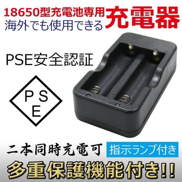 18650リチウムイオン電池専用充電器 二本同時充電可 Li-Ion リチウムイオン充電池 2本用 マルチ充電器 AC100-240V GOODScharger|goodgoods-2