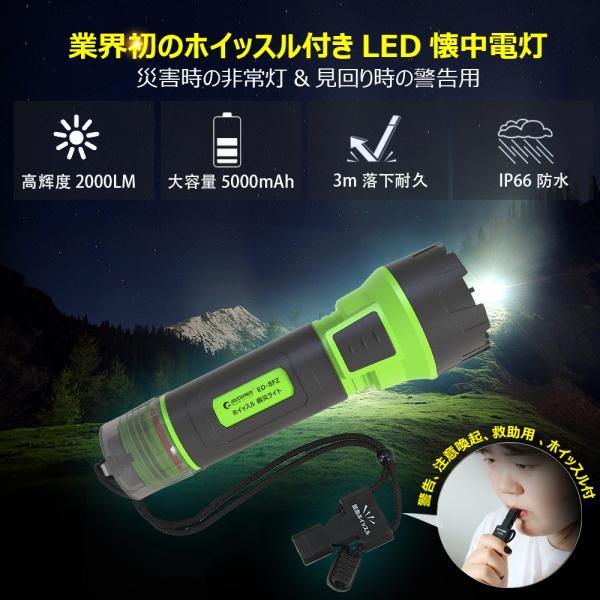LED懐中電灯 1800lm CREE ハンディライト