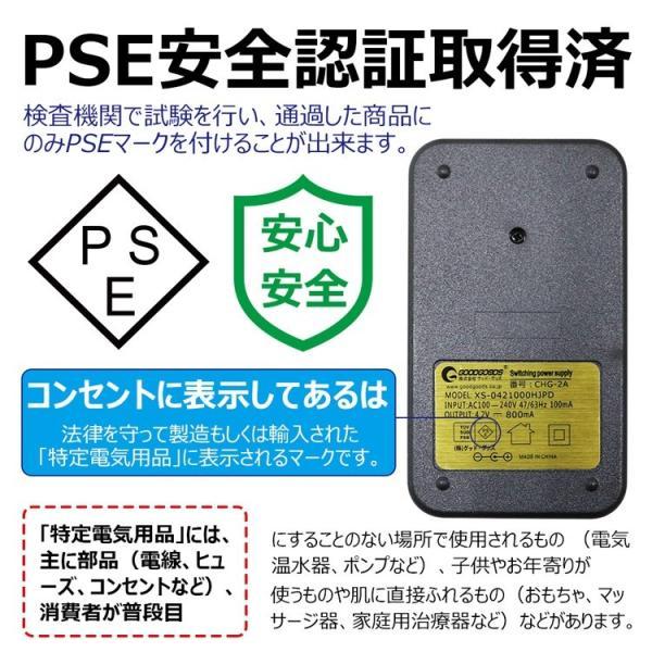18650リチウムイオン電池専用充電器 二本同時充電可 Li-Ion リチウムイオン充電池 2本用 マルチ充電器 AC100-240V GOODScharger|goodgoods-2|03