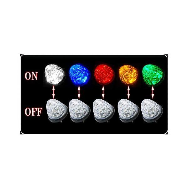 マーカーランプ LED 24V対応 カー用品 LEDライト トラック トラック用品 LEDマーカーランプ 車幅灯 五色選択 goodgoods-2 03