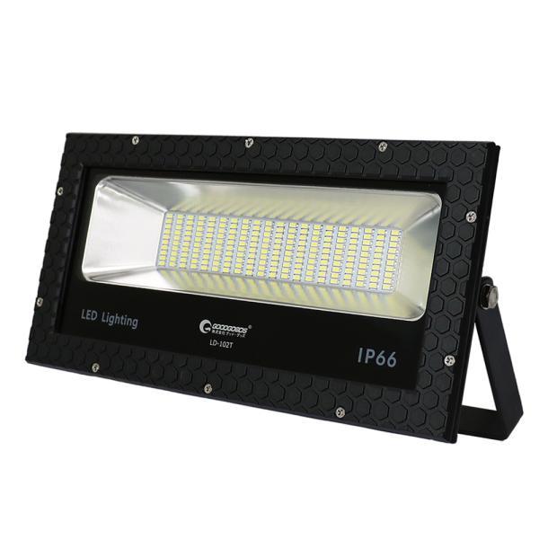 投光器 100W 1000w相当 LED投光器 スタンド 屋外照明 広角 防水 ナイター照明 駐車場 看板灯 工事現場 灯光器 GOODGOODS|goodgoods-2