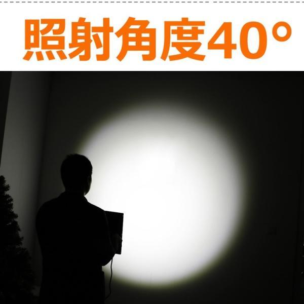 防災 LED投光器 200W  照射角度40° 薄型 防水 スポットライト 美容室 住宅 店舗 屋外用照明 昼光色 インテリア照明 玄関灯 LDJ-200K|goodgoods-2|04