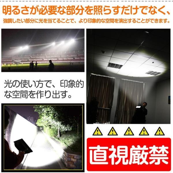 防災 LED投光器 200W  照射角度40° 薄型 防水 スポットライト 美容室 住宅 店舗 屋外用照明 昼光色 インテリア照明 玄関灯 LDJ-200K|goodgoods-2|06