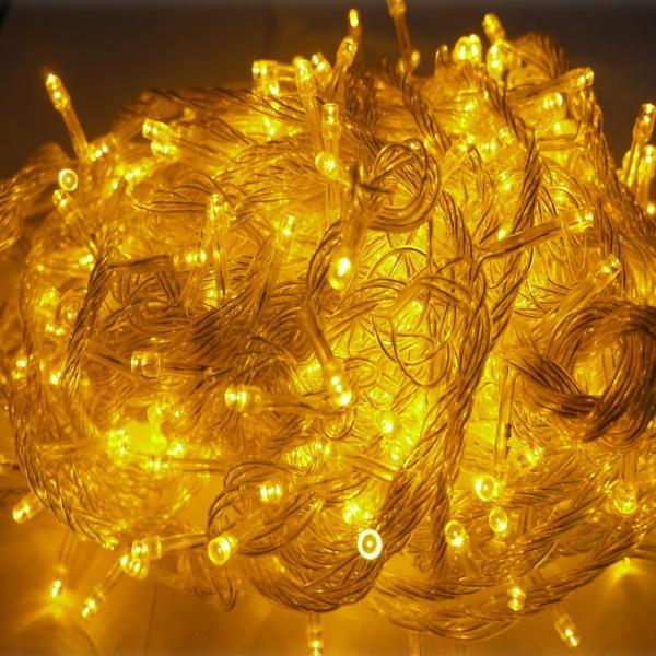 2個セット LED電飾 イルミネーションLED 500球 30m 防水防雨 飾り led イルミネーション クリスマス 装飾 ストレートライト  LD55 goodgoods-2 03