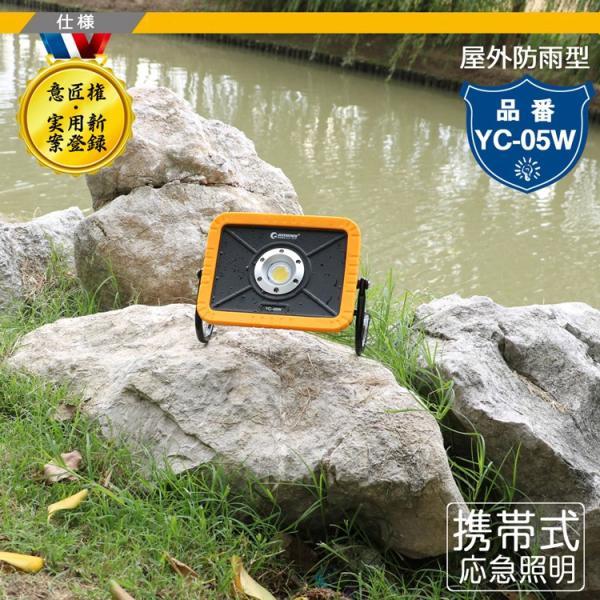 led投光器 30W 3600lm cob 強力マグネット付き ワークライト iPhoneに充電可 YC-05W 意匠権登録・実用新案登録 goodgoods-2 02