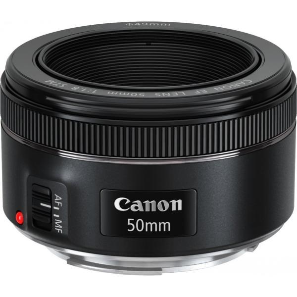 Canon EF 50mm F1.8 STM 単焦点レンズ フルサイズ対応 並行輸入品
