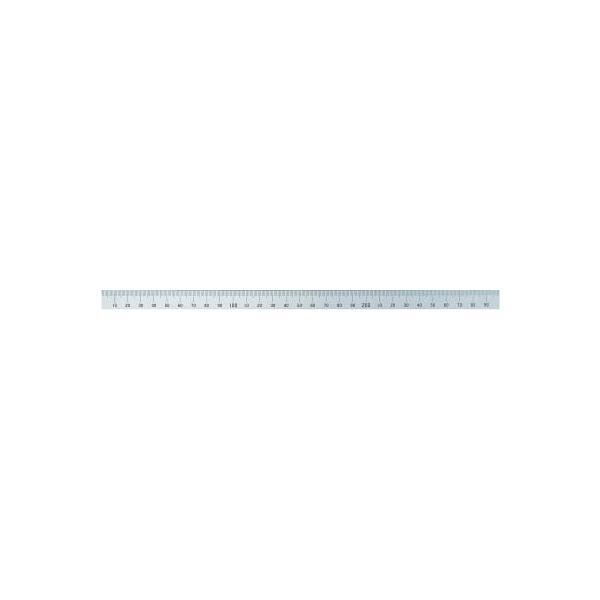 【代引不可】 シンワ マシンスケール300mm上段左基点目盛穴無 【14131】