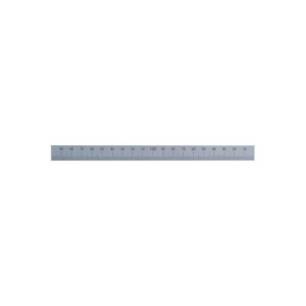 【代引不可】 シンワ マシンスケール200mm下段右基点目盛穴無 【14156】