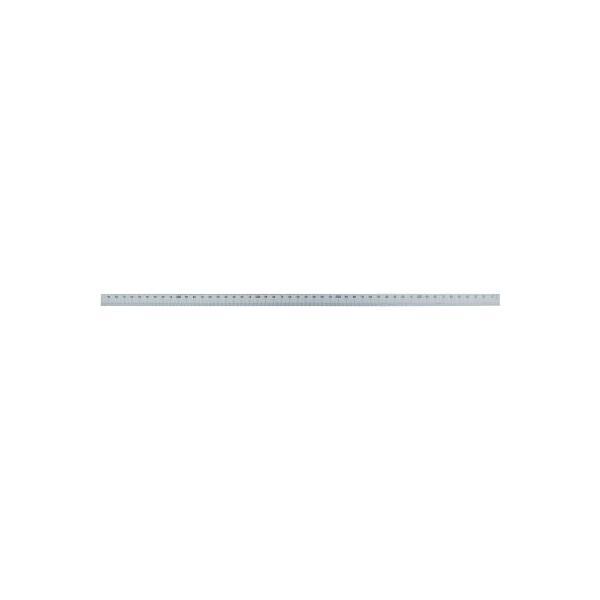 【代引不可】 シンワ マシンスケール500mm下段右基点目盛穴無 【14158】